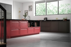 Harborne Graphite & Chicory Red