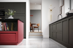 Harborne Graphite and Chicory Red