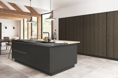 Kelso Truffle Grey with Zola Matte Graphite