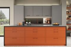 Zola Matte Orange, Dust Grey & Graphite
